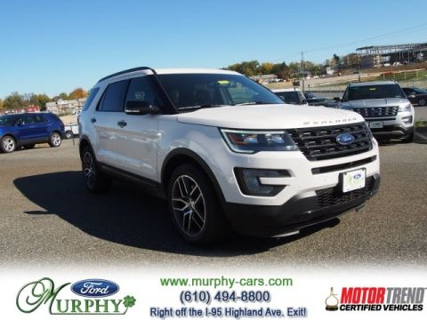 New 2017 Ford Explorer Sport 4WD0