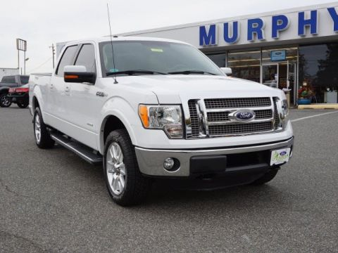 Certified Pre-Owned 2012 Ford F-150 Lariat Four Wheel Drive Pickup Truck1