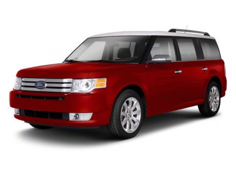 Pre-Owned 2010 Ford Flex Limited All Wheel Drive Sedan0