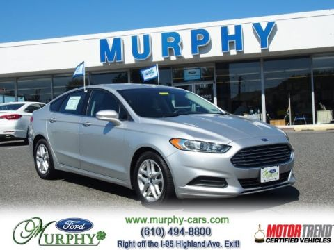 Certified Pre-Owned 2015 Ford Fusion SE Front Wheel Drive Sedan0