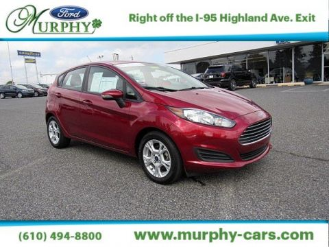 Certified Pre-Owned 2014 Ford Fiesta SE Front Wheel Drive Hatchback1